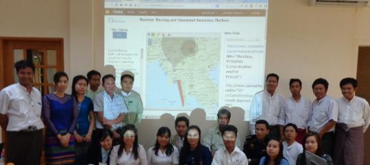 Myanmar trained their SAMBRO Users