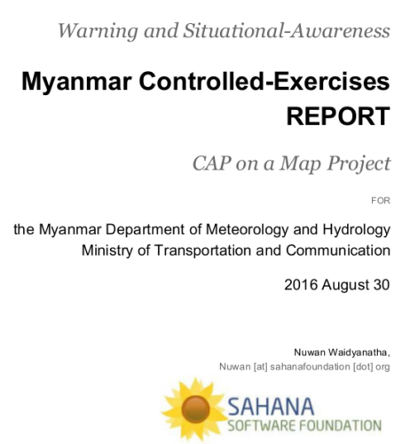 SAMBRO Tested and Myanmar is Ready to Go Live